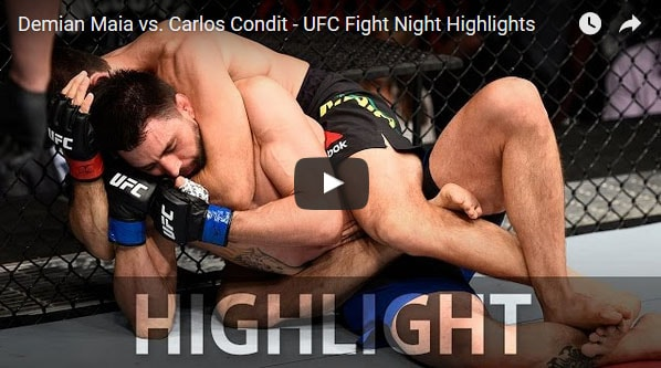 Demian Maia vs Carlos Condit Full Fight Video