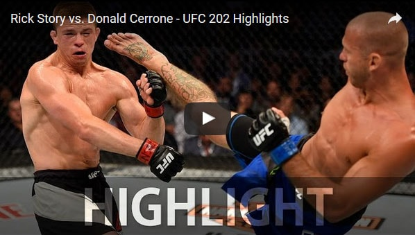 Donald Cerrone vs Rick Story Full Fight Video