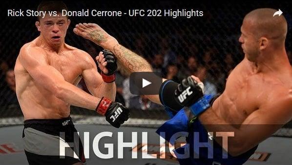 Donald Cerrone vs Rick Story Full Fight Video