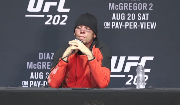 Nate Diaz UFC 202 Post Fight Press Conference