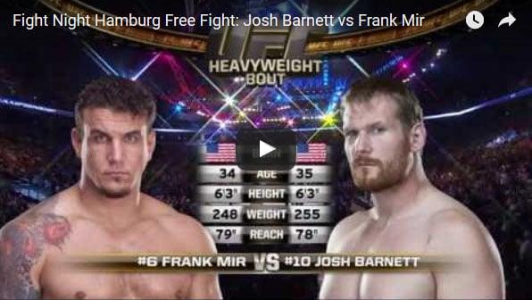Josh Barnett vs Frank Mir Full Fight Video