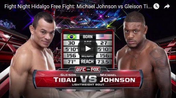 Michael Johnson vs Gleison Tibau Full Fight Video