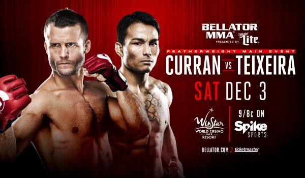 Bellator Curran vs Teixera