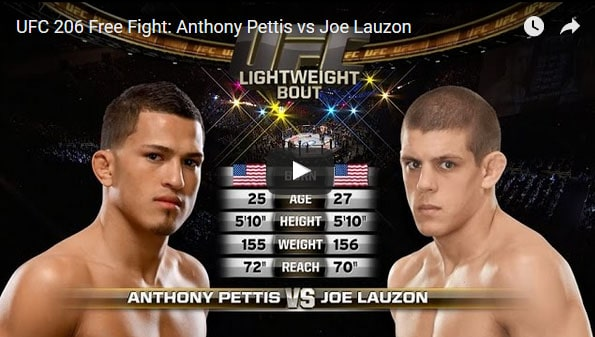 Anthony Pettis vs Joe Lauzon Full Fight Video