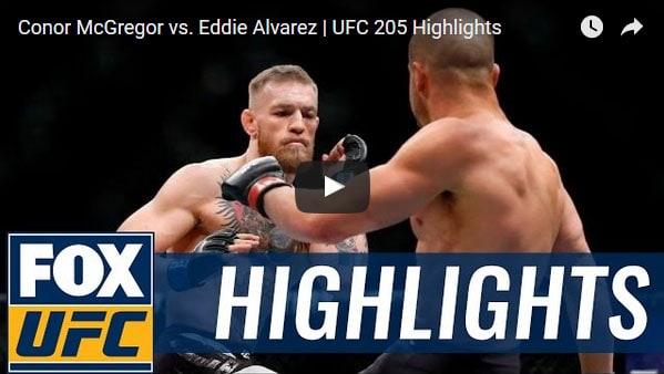 Conor McGregor vs Eddie Alvarez Highlights