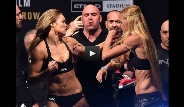 Ronda Rousey vs Holly Holm Full Fight Video