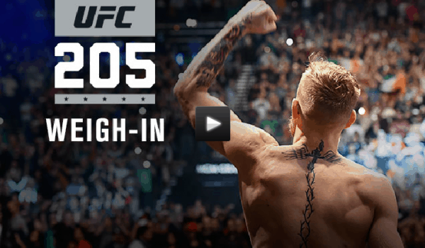 ufc 205 weigh in live stream