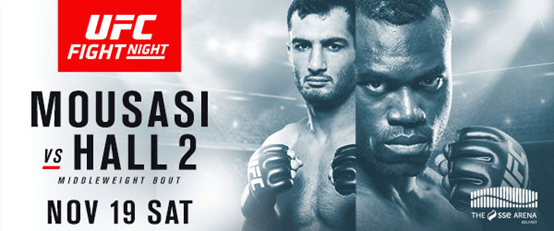 UFN Mousasi vs Hall