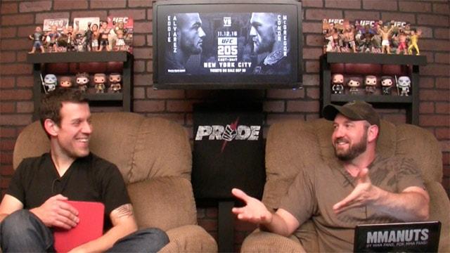Conor McGregor vs Eddie Alvarez | UFC 205 Preview | MMANUTS MMA Podcast | EP # 314