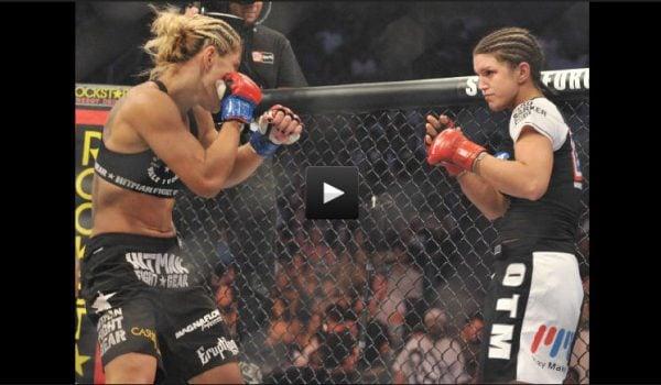Cris Cyborg vs Gina Carano Full Fight Video