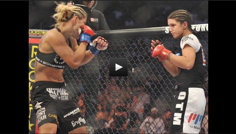 Top Gina Carano Cyborg Fight Wallpapers