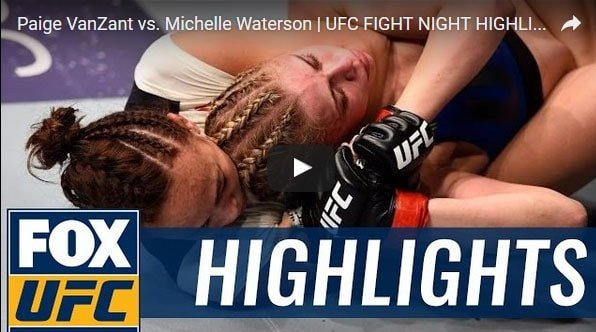 Paige VanZant vs Michelle Waterson Full Fight Video Highlights