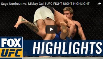 Sage Northcutt vs Mickey Gall Full Fight Video Highlights