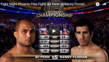 BJ Penn vs Kenny Florian Full Fight Video
