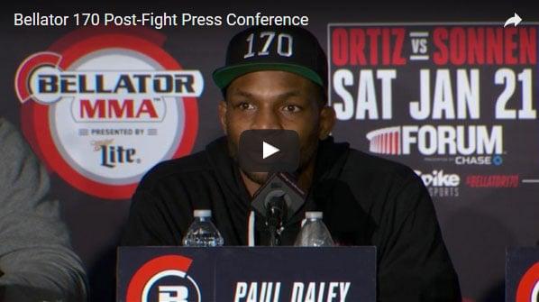 Bellator 170 Post-Fight Press Conference