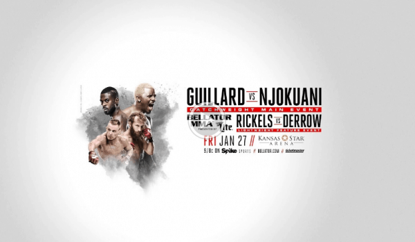 Bellator 171 Guillard vs Njokuani Weigh in Live Stream