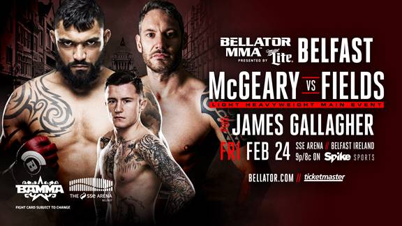Bellator 173 Liam McGeary vs Chris Fields
