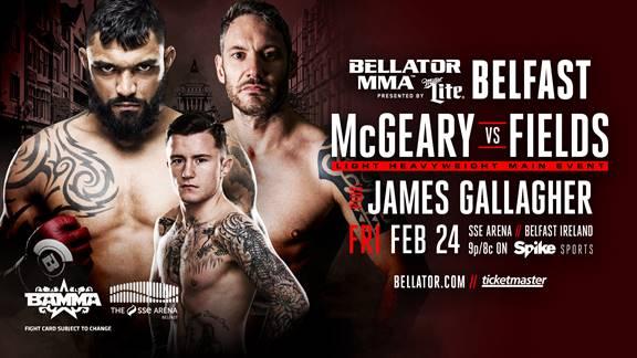 Bellator 173 Liam McGeary vs Chris Fields