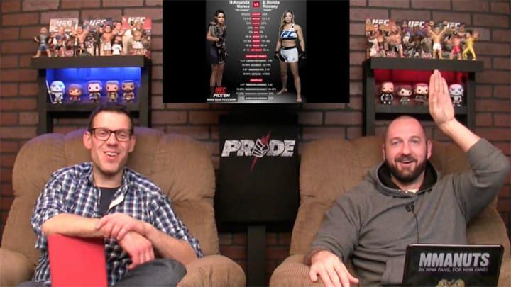 Ronda Rousey vs Amanda Nunes | UFC 207 Results and Recap | MMANUTS MMA Podcast | EP # 321