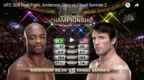 Anderson Silva vs Chael Sonnen 2 Full Fight Video