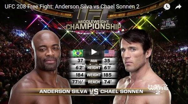 Anderson Silva vs Chael Sonnen 2 Full Fight Video