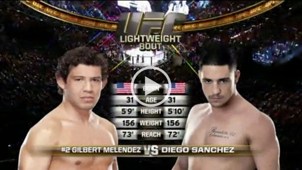 Gilbert Melendez vs Diego Sanchez Full Fight Video