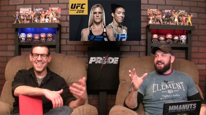 Holly Holm vs Germaine de Randamie | UFC 208 Results and Recap | MMANUTS MMA Podcast | EP # 327