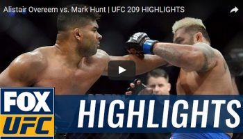 Alistair Overeem vs Mark Hunt Full Fight Video Highlights