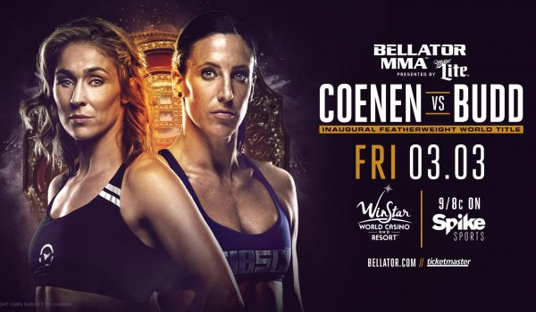 Bellator 174 Coenen vs Budd Weigh In