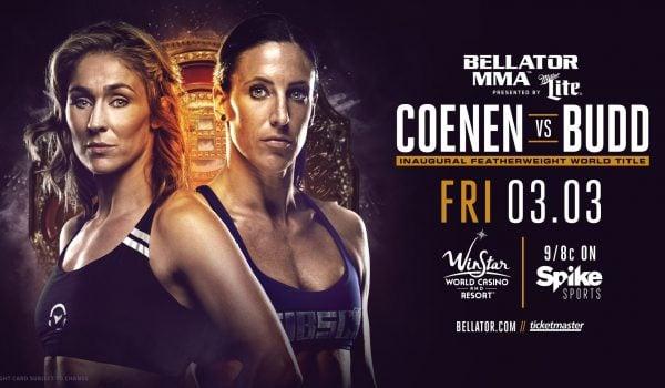 Bellator 174 Coenen vs Budd Weigh In