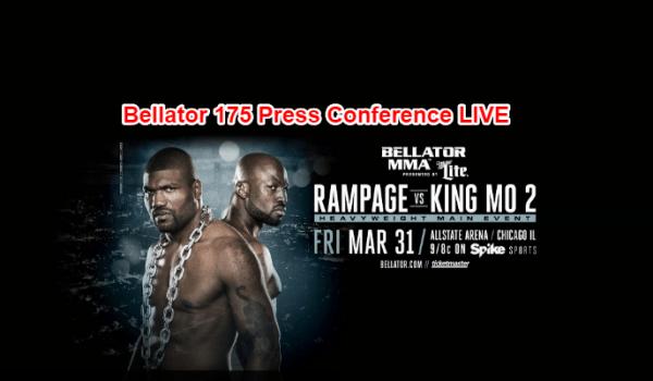 Bellator 175 Press Conference
