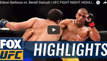 Edson Barboza vs Beneil Dariush Full Fight Video Highlights
