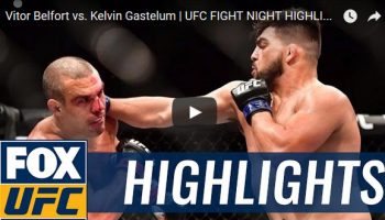 Vitor Belfort vs Kelvin Gastelum Full Fight Video Highlights