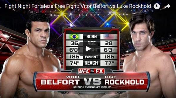 Vitor Belfort vs Luke Rockhold Full Fight Video