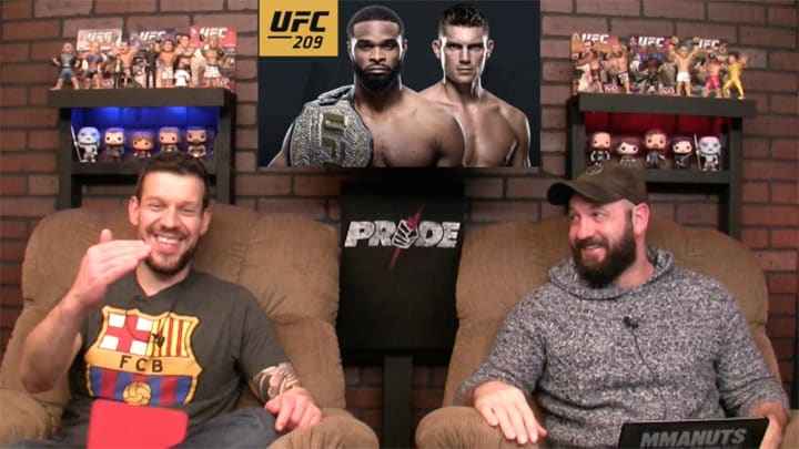 UFC 209 Results and Recap | MMANUTS MMA Podcast | EP # 330