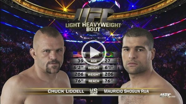 Chuck Liddell vs Shogun Rua Full Fight Video