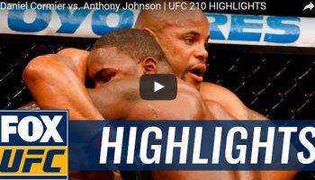 Daniel Cormier vs Anthony Johnson Full Fight Video Highlights