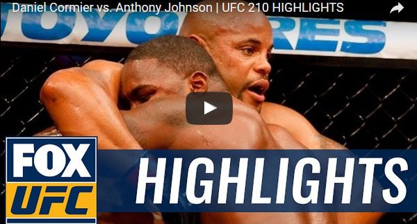 Daniel Cormier vs Anthony Johnson Full Fight Video Highlights