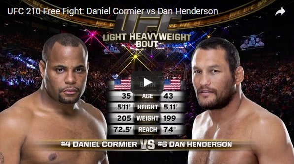 Daniel Cormier vs Dan Henderson Full Fight Video