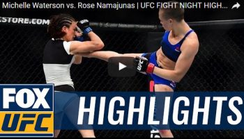 Michelle Waterson vs Rose Namajunas Full Fight Video Highlights