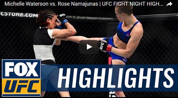Michelle Waterson vs Rose Namajunas Full Fight Video Highlights
