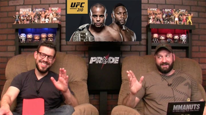 UFC 210 Results and Recap   MMANUTS MMA Podcast   EP # 334