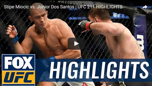 Stipe Miocic vs Junior Dos Santos Full Fight Video Highlights