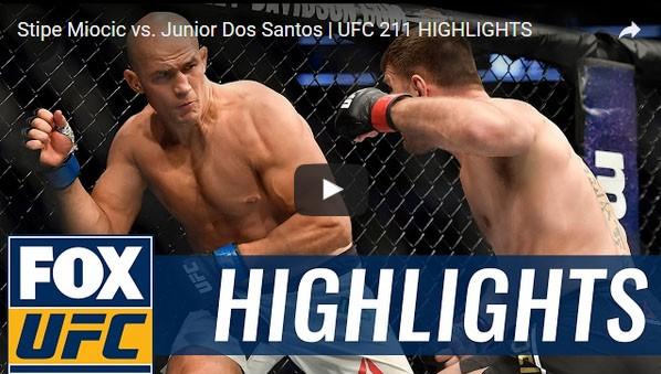 Stipe Miocic vs Junior Dos Santos Full Fight Video Highlights