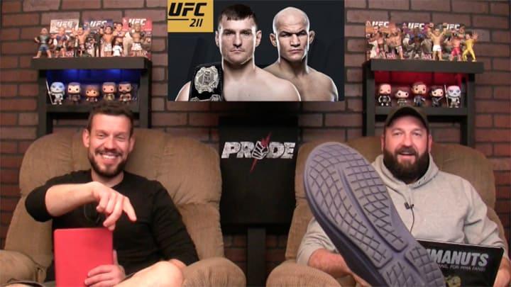 Stipe Miocic vs Junior Dos Santos   UFC 211 Results and Recap   MMANUTS MMA Podcast   EP # 338