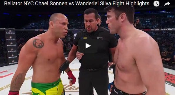 Chael Sonnen vs Wanderlei Silva Full Fight Video Highlights