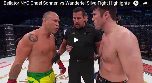 Chael Sonnen vs Wanderlei Silva Full Fight Video Highlights