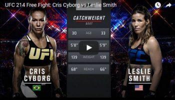 Cris Cyborg vs Leslie Smith Full Fight Video