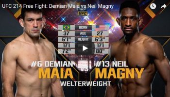 Demian Maia vs Neil Magny Full Fight Video