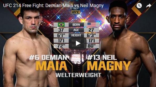 Demian Maia vs Neil Magny Full Fight Video